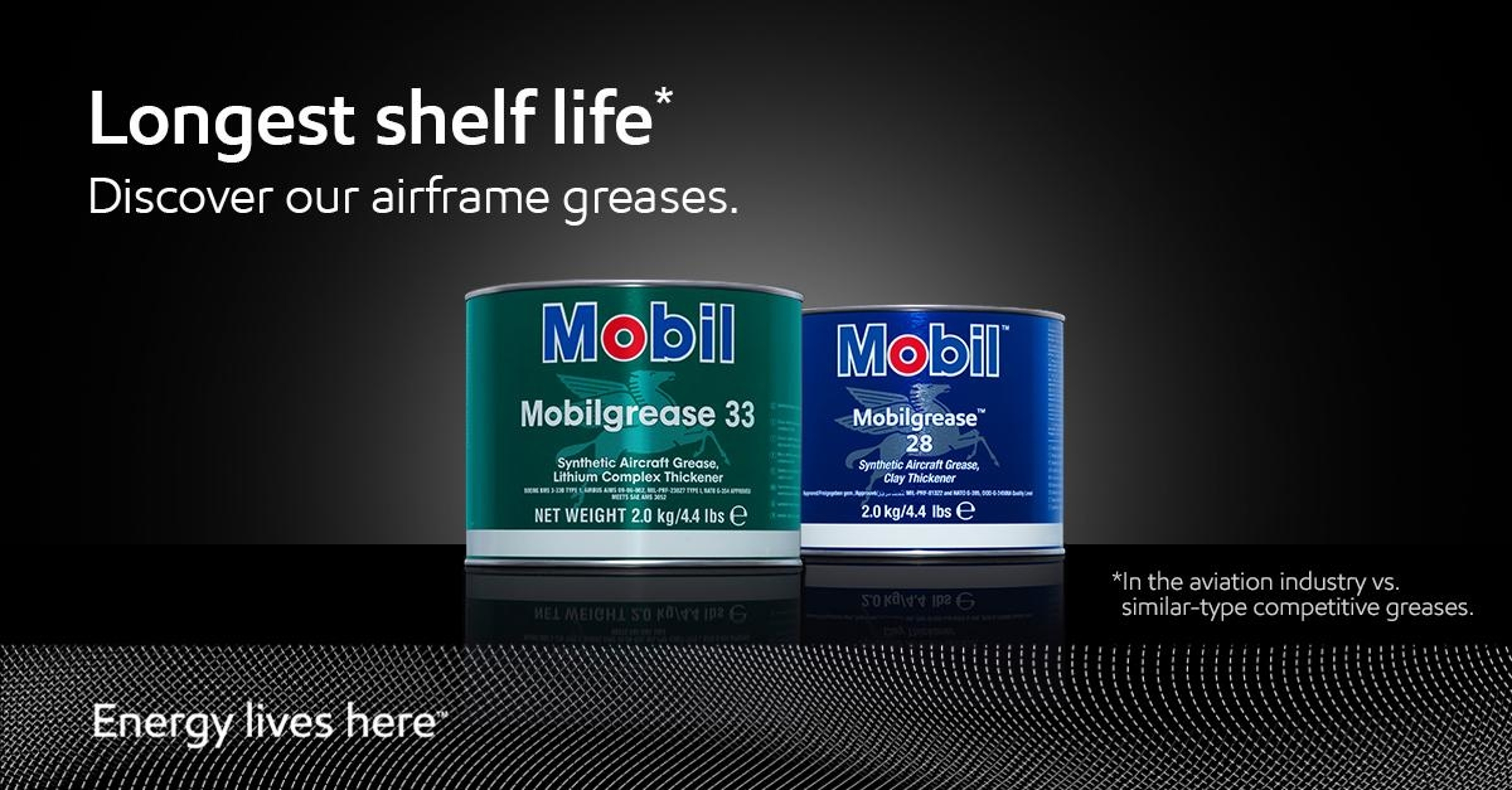 ExxonMobil Airframe Greases Offer the Longest Shelf Life in the Industry